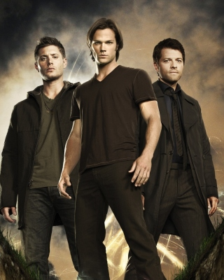 Supernatural Poster Wallpaper for Nokia Asha 306