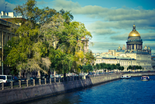 St. Petersburg Russia sfondi gratuiti per cellulari Android, iPhone, iPad e desktop