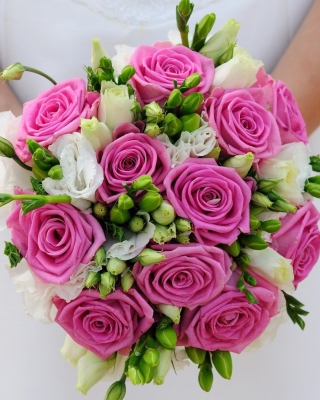 Pink Wedding Bouquet Picture for 360x640