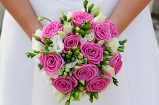 Pink Wedding Bouquet - Fondos de pantalla gratis