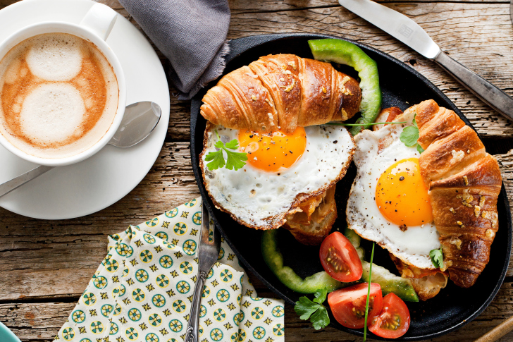 Breakfast in London wallpaper
