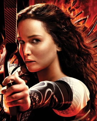 Katniss Jennifer Lawrence Picture for iPhone 6 Plus