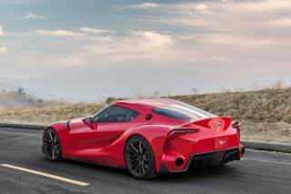 Toyota FT 1 Background for Android, iPhone and iPad