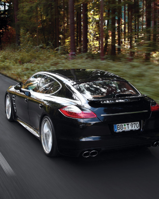 Porsche Panamera Turbo Background for Nokia C1-01