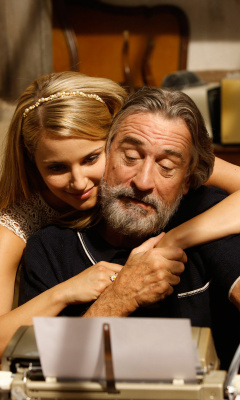 Screenshot №1 pro téma Robert de Niro and Dianna Agron in The Family 240x400