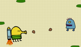 Doodle Jump Game Picture for Android, iPhone and iPad
