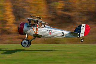 Nieuport 28 Aircraft Background for Android, iPhone and iPad