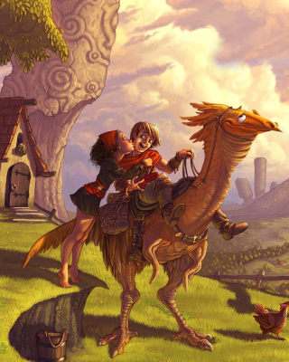 Dragon Riders Picture for iPhone 6 Plus