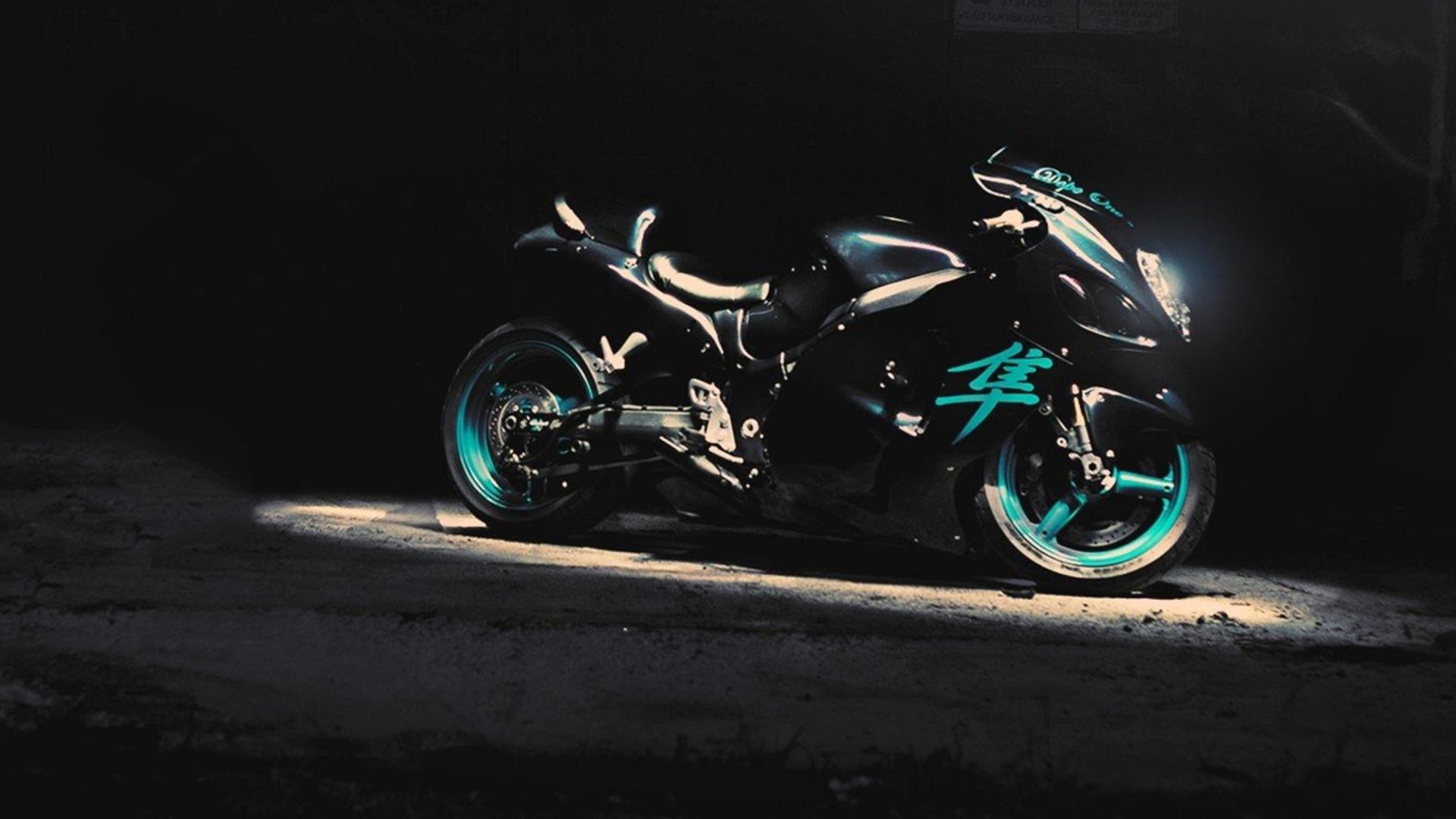 мотоцикл синий подставка подборки