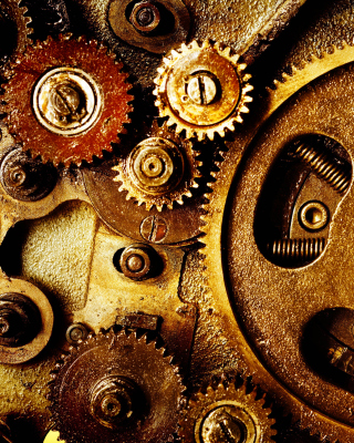 Gear Mechanisms Wallpaper for Nokia Asha 311