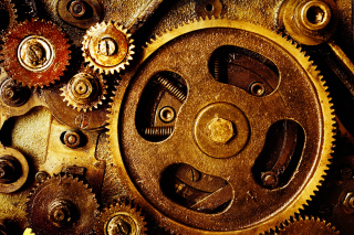 Gear Mechanisms Wallpaper for Android, iPhone and iPad