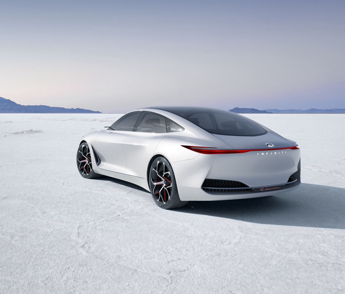 Infiniti Q Inspiration Futuristic Sedan wallpaper 1200x1024