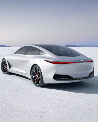 Kostenloses Infiniti Q Inspiration Futuristic Sedan Wallpaper für iPhone 6 Plus