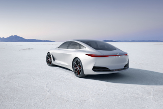 Infiniti Q Inspiration Futuristic Sedan Background for Android, iPhone and iPad