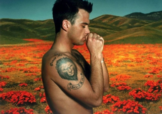 Robbie Williams Background for Android, iPhone and iPad