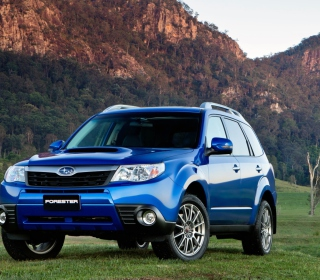 Subaru Forester Wallpaper for iPad 2