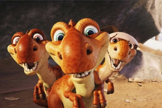 Ice Age Dinosaur Background for Android, iPhone and iPad