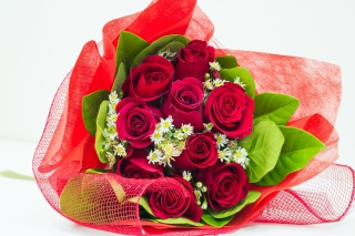 Free Romantic and Elegant Bouquet Picture for LG P700 Optimus L7
