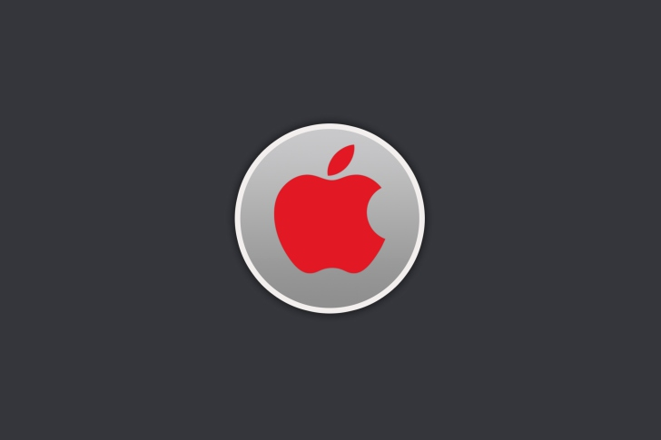 Fondo de pantalla Apple Computer Red Logo