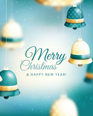 Merry Christmas Bells Background for Nokia C1-01