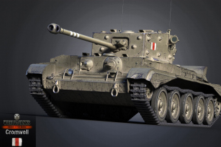 Cromwell Tank, World of Tanks Background for Android, iPhone and iPad