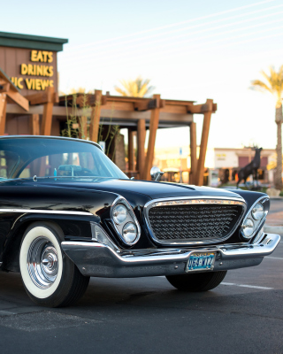 1961 Chrysler Newport sfondi gratuiti per iPhone 4S