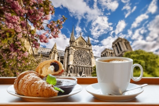 Breakfast in Paris - Fondos de pantalla gratis para 480x400