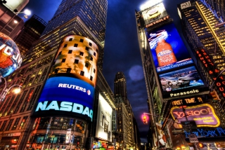New York Times Square Picture for Android, iPhone and iPad