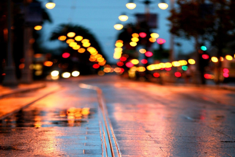 Дождь на городской олее скачать