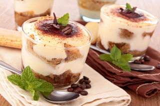 Cocoa Tiramisu in Little Italy Wallpaper for Android, iPhone and iPad