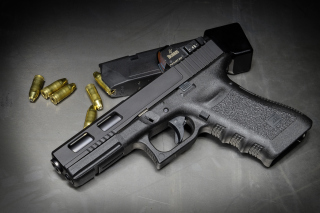 Glock 17 Pistol Background for Android, iPhone and iPad