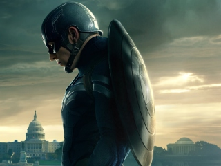 Screenshot №1 pro téma Captain America 2 The Winter Soldier 320x240