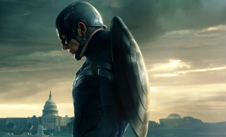 Captain America 2 The Winter Soldier - Obrázkek zdarma pro Widescreen Desktop PC 1280x800