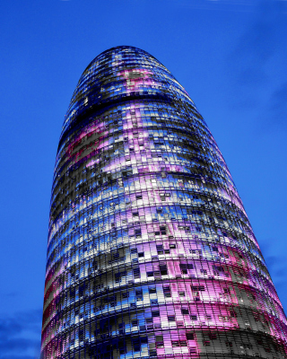 Torre Agbar in Barcelona Picture for iPhone 6 Plus