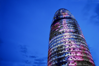 Torre Agbar in Barcelona Picture for Android, iPhone and iPad