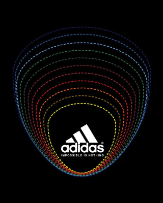 Adidas Tagline, Impossible is Nothing - Obrázkek zdarma pro iPhone 6 Plus