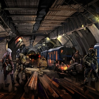 Metro 2034 Novel Wallpaper for iPad 3