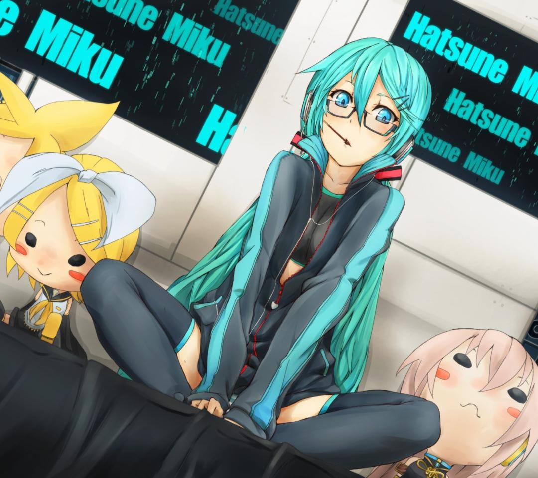 Vocaloid, Miku Hatsune para Motorola RAZR XT910