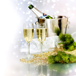 Champagne To Celebrate The New Year - Fondos de pantalla gratis para 1024x1024