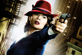Free Agent Carter, Hayley Atwell Picture for Android, iPhone and iPad