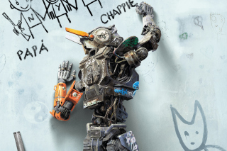Chappie Robot Movie Wallpaper for Android, iPhone and iPad