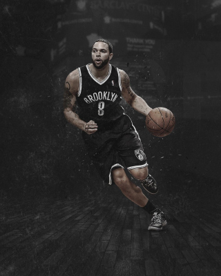 Kostenloses Brooklyn Nets, Deron Williams Wallpaper für Nokia C3-01