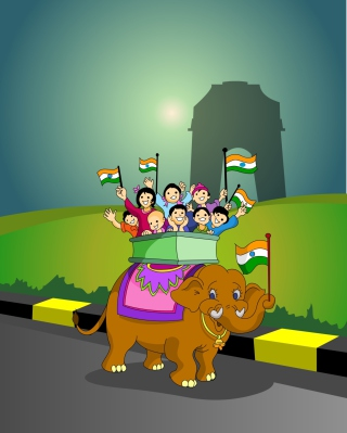 Republic Day Cover Background for Nokia C5-06