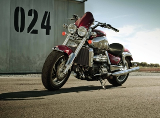 Test Drive Bike Triumph Wallpaper for Android, iPhone and iPad