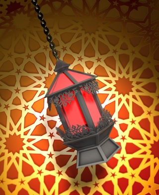 Free Ramadan Lantern Picture for HTC Titan