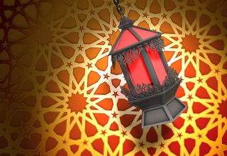 Ramadan Lantern Wallpaper for Android, iPhone and iPad