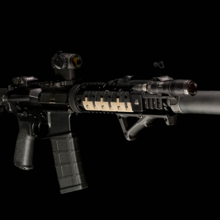 AR 15 assault rifle Wallpaper for LG KP105