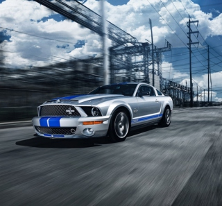 Ford Mustang Background for iPad mini