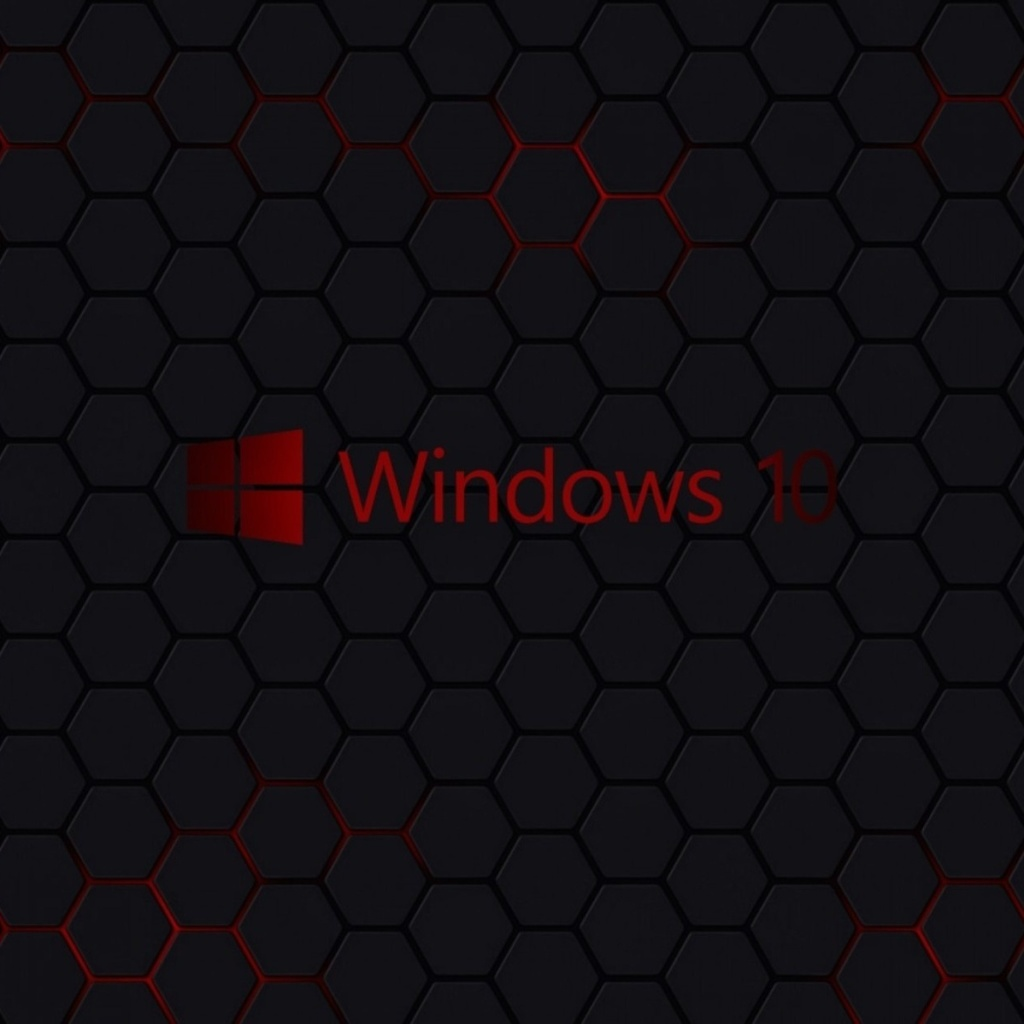 Screenshot №1 pro téma Windows 10 Dark Wallpaper 1024x1024