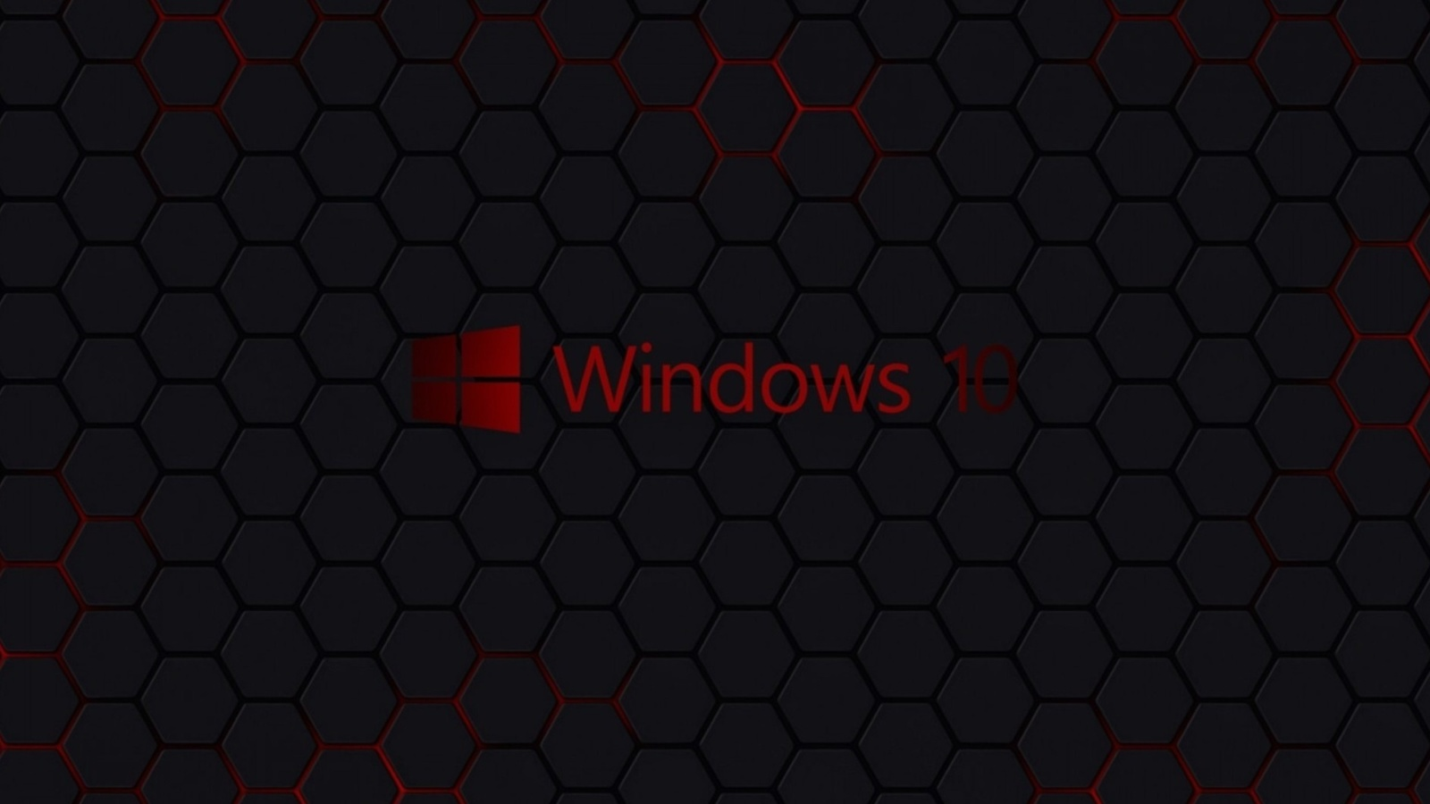 Screenshot №1 pro téma Windows 10 Dark Wallpaper 1600x900